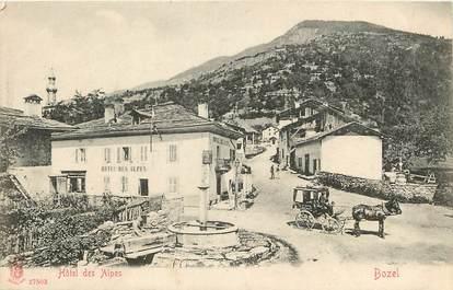 "CPA FRANCE 73 ""Bozel, Hôtel des Alpes"""