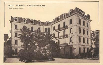 "CPA FRANCE 06 ""Beaulieu sur Mer, Hôtel Victoria""."