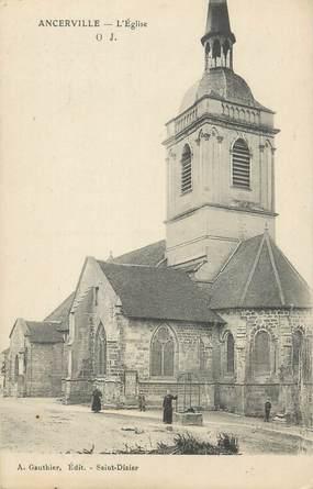 """CPA FRANCE 55 """"Ancerville, L'église""""."""