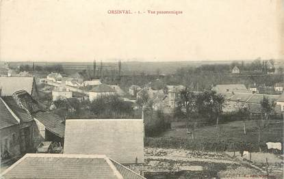 "CPA FRANCE 59 "" Orsinval, Vue panoramique""."