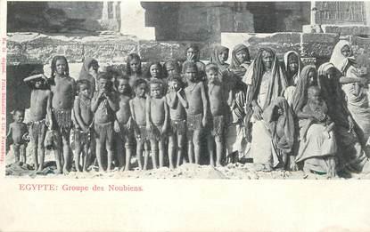 """CPA EGYPTE """"Groupe des Noubiens"""""""