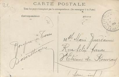 """CPA FRANCE 76 """" La Londe, Place de l'Ouraille""""."""