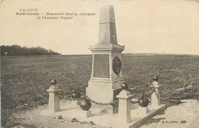 """CPA FRANCE 90 """"Petit Croix, Monument aux morts""""."""