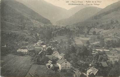 "CPA FRANCE 68 "" Storkenshon, Vue du village""."