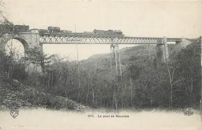 "CPA FRANCE 03 ""Neuviale, Le pont""."