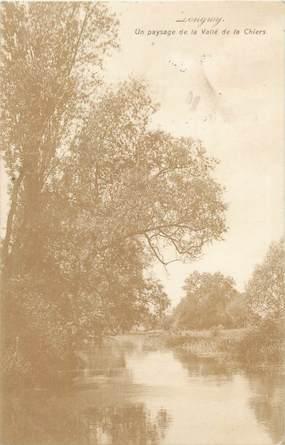 """CPA FRANCE 54 """" Longwy, Un paysage de la Vallée de la Chiers""""."""