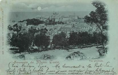 "CPA MONACO "" Monte Carlo, Vue générale""."