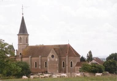 """CPSM FRANCE 21 """" Labergement Foigney, L'église""""."""