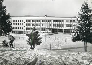 """CPSM FRANCE 39 """" St Laurent du Jura, Colonie Ecole de Neige René Vignaud""""."""