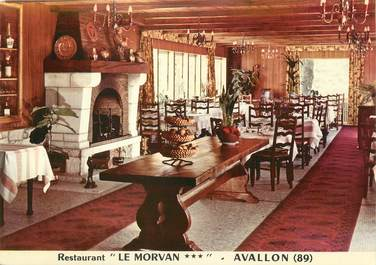 "CPSM FRANCE 89 "" Avallon, Restaurant Le Morvan""."