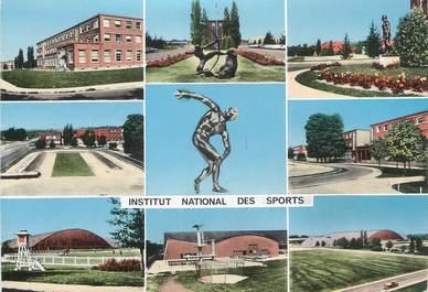 """CPSM FRANCE 94 """" Vincennes, Institut National des Sports""""."""
