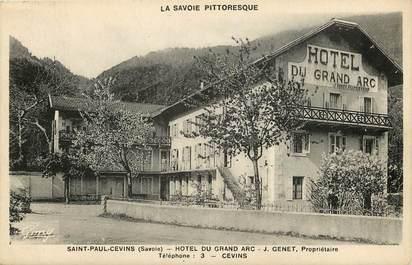 """CPA FRANCE 73 """"Saint Paul Cevins, Hotel du Grand Parc"""""""