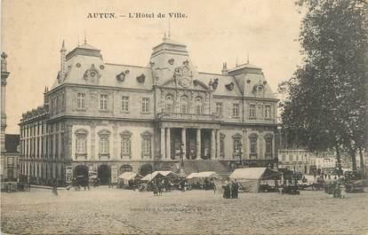 """CPA FRANCE 71 """" Autun, L'Hôtel de Ville""""."""