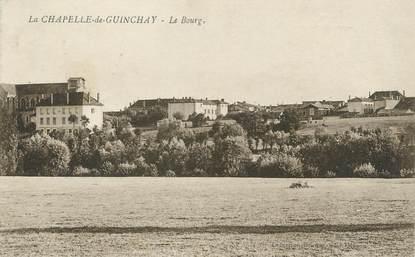 """CPA FRANCE 71 """" La Chapelle de Guinchay, Le bourg""""."""
