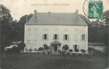"""CPA FRANCE 71 """"Dracy le Fort, Château du Buet""""."""