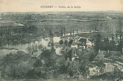"""CPA FRANCE 71 """"Cuisery, Vallée de la Seille""""."""