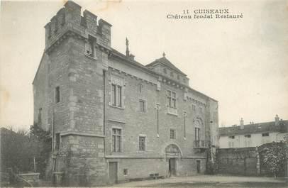 "CPA FRANCE 71 ""Cuiseaux, Château féodal""."