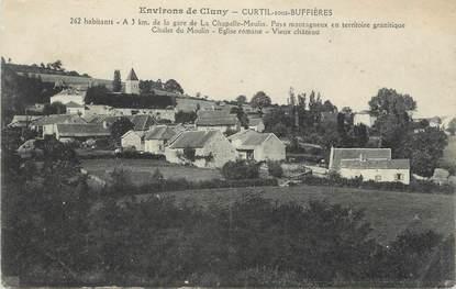 """CPA FRANCE 71 """" Curtil sous Buffières""""."""