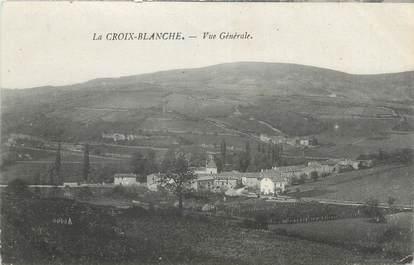 """CPA FRANCE 71 """" La Croix Blanche, Vue générale""""."""