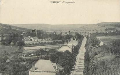 """CPA FRANCE 71 """" Fontenay, Vue générale""""."""