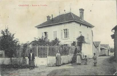 """CPA FRANCE 71 """" Chaintré, Château des Quarts""""."""