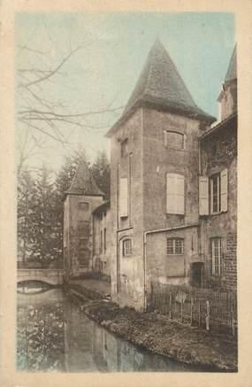 """CPA FRANCE 71 """" Crèches sur Saone, Château des Tours""""."""