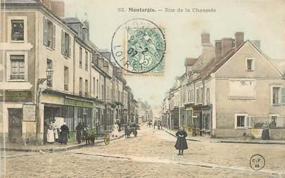 """CPA  FRANCE 45 """"Montargis, rue de la chaussée"""""""
