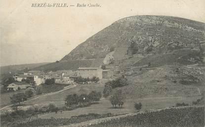 "CPA FRANCE 71 "" Berzé la Ville, Roche Gauche""."