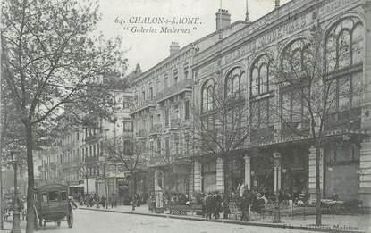 "CPA FRANCE 71 "" Chalon sur Saône, Galeries Modernes""."