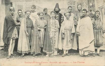 """CPA FRANCE 71 """" Chalon sur Saône, Institution St Lazare, Les Flavius""""."""