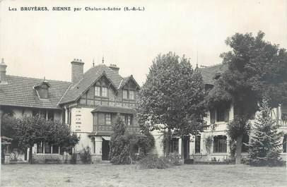 """CARTE PHOTO FRANCE 71 """" Chalon sur Saône, Les Bruyères, Sienne""""."""