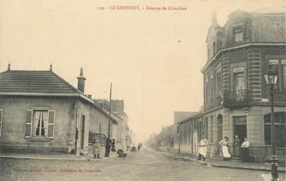 """CPA FRANCE 71 """" Le Creusot, Avenue de Chanliau""""."""