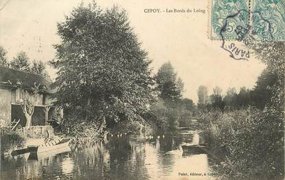 "CPA  FRANCE 45 ""Cepoy, les bords du Loing"""
