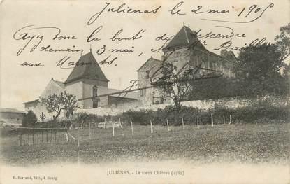 """CPA FRANCE 71 """"Juliénas, Le vieux château""""."""