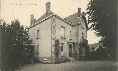"CPA FRANCE 71 ""Génelard, Villa Vernisy""."