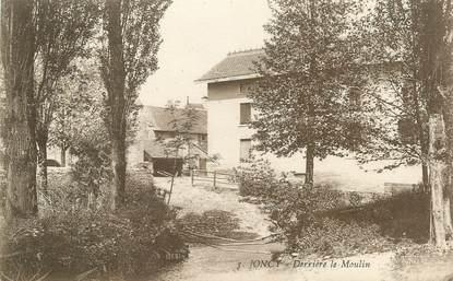 "CPA FRANCE 71 ""Joncy, Derriière le Moulin""."