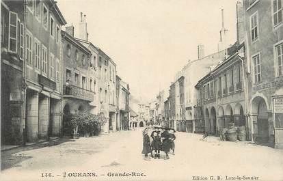 "CPA FRANCE 71 ""Louhans, Grande rue""."