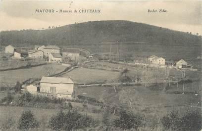 """CPA FRANCE 71 """"Matour, Hameau de Chiteaux""""."""