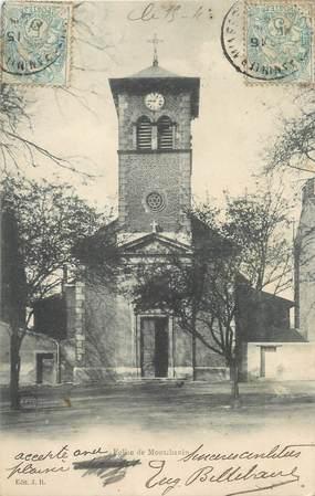 """CPA FRANCE 71 """"Montchanin, L'église""""."""