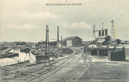 """CPA FRANCE 71 """"Montchanin les Mines""""."""