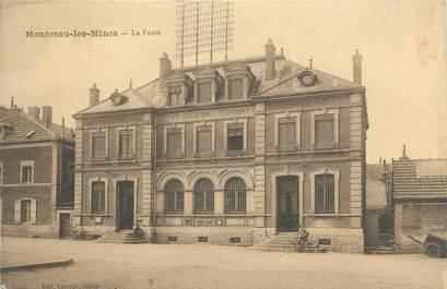"""CPA FRANCE 71 """"Montceau les Mines, La Poste""""."""