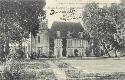 """CPA FRANCE 71 """"Pontanevaux, Le château Bonnet""""."""