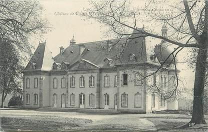 """CPA FRANCE 71 """"Ozolles, Le château de Rambuteau""""."""