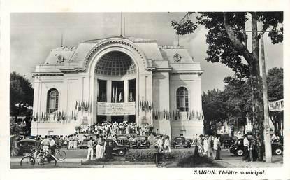 CPSM VIETNAM / SAIGON, le théâtre municipal