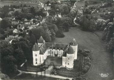 """CPSM FRANCE 71"""" Savigny les Beaune, Vue aérienne sur le château""""."""