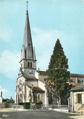 """CPSM FRANCE 71"""" Savigny en Revermont, L'église""""."""