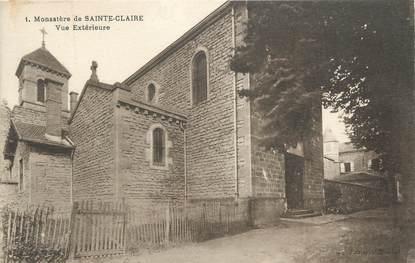 """CPA FRANCE 71 """" Ste Claire, Le monastère""""."""