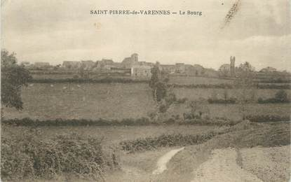 """CPA FRANCE 71 """" St Pierre de Varennes, Le bourg'""""."""