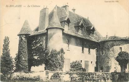 """CPA FRANCE 71 """" St Hilaire, Le château""""."""