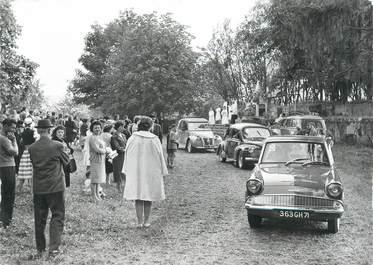 """CPSM FRANCE 71 """" St Christophe en Brionnais, Bénédictions des autos """"."""